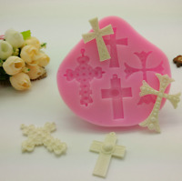 Lace Silicone Mold Mould Sugar Craft Fondant Mat Cake Decorating Baking Tool New