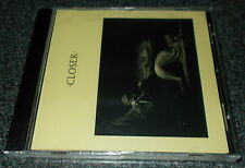 JOY DIVISION-CLOSER-CD 1999-NEW ORDER-WMME PRESSING-NEW & SEALED