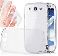 SALE  Samsung Galaxy S3 Clear Case Gel Handyhülle durchsichtig