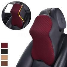 Car Seat Headrest Pad Memory Foam Pillow Head Neck Rest Support Cushion 4 Color
