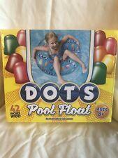 DOTS GUMMY CANDY POOL FLOAT 42 INCH WIDE