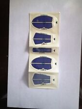 Strike n Swipe Re-Usable Impact Labels - 5 Labels per Pack - New