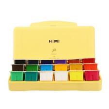 Gouache Paint Kit 18 Colors x 30ml Paint Set Unique Jelly Cup Design NEW