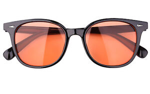 Retro Tinted lens Round Eyeglasses Outdoor Eyewears  with Rivet Sunglasses 9744