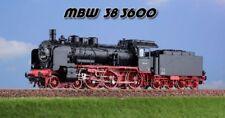 Mbw 383600 Locomotive à Vapeur Br 38 3600 - Db Époque 3 A Voie 0