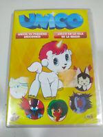 Unico el Piccolo Unicorno - DVD + Extra Regione 2 Spagnolo Giapponese nuevo