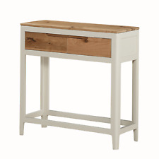 Modern White Large Hall Table / Painted Console Table / Telephone Hall Table