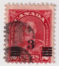 1932 Canada - King George V Overprinted - 3/2 Cent Stamp