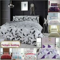 KING SIZE BEDDING SET | Modern Duvet Cover Pillowcase | Extra Soft Quilt Covers