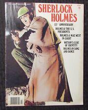 1976 E-Go Collector's Series SHERLOCK HOLMES Magazine #3 VG/FN 5.0
