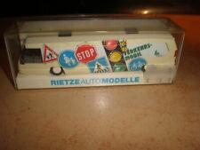 Rietze #60159 HO 1/87  METROLINER bus Verkehrsmobil  MIB (50/077)