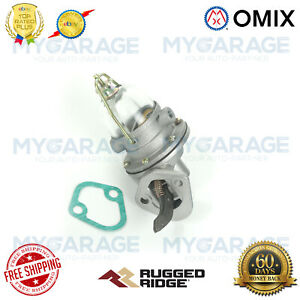 Omix-ADA For 1941-1971 Willys / Jeep 134CID Original-Style Fuel Pump - 17709.01