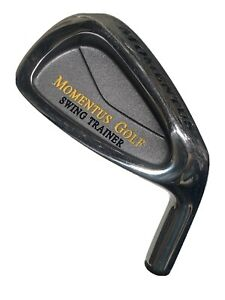 MOMENTUS 40oz Swing Trainer - Weighted Golf Club Trainer with Training Grip - RH