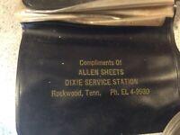 Vintage Service Station Advertising Wallet- 1950s