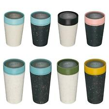 New rCup Reusable Coffee Cup From Recycled Cups, 100% Leak Proof, Various Styles