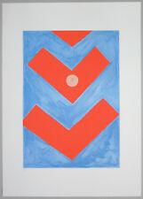 """Giulio TURCATO - """"Segnali"""" - Serigrafia, 50 x 70 cm"""