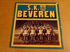 FOOTBALL VOETBAL BLUE VINYL LP / S.K. BEVEREN