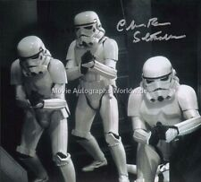 CHRISTOPHER 'CHRIS' BUNN Stormtrooper Star Wars Autograph Signed UACC & AFTAL RD