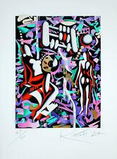 MARK KOSTABI - 3D- KONSTRUKTION  - HANDSIGNIERT, NUMMERIERT - VK: 690 Euro