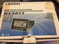 Clarion NVS613 couleur sat nav motorisé flip out etc en boîte/métier/cage de navigation