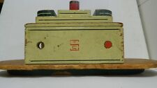 Rare, Antique Wooden Seaver Toys Steam or Tugboat Vintage Paint/Logo Neat Item!