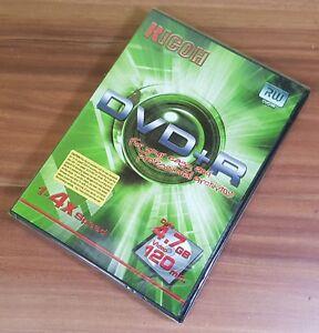 DVD+R 4.7GB 120min Rohling Ricoh DRV-4XVB mit DVD Slim Hülle