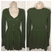 0520417 If it Were Me Anthropologie S Cardigan Button Down Sweater Coat Knit Top
