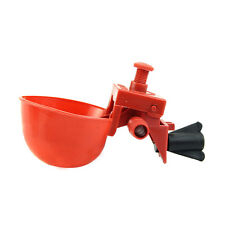 5Pcs Bird Feed Coop Water Drinking Cup Drinker Automatic Poultry Chicken Fowl