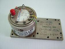 RF Yig oscillator source 10 - 19GHz 18 - 23dBm AVANTEK 9240