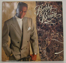 """BOBBY BROWN - DON'T BE CRUDELE 12"""" LP (g491)"""