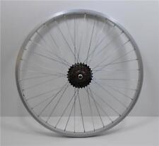 "26 "" Alloy REAR Mountain Bike Wheel & 7 SPEED SHIMANO FREEWHEEL Bicycle MTB (R)"