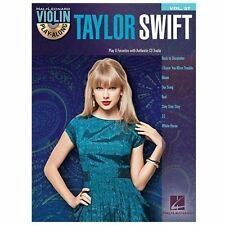 Taylor Swift Violin Sheet Music ~ Stay, I Knew You Were Trouble, Our Song, Red