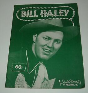 1950 BILL HALEY SHEET MUSIC SONG BOOK JACK HOWARD PUBLICATIONS COUNTRY SONGS