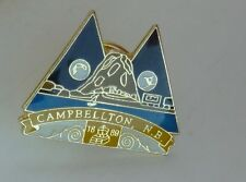 Campbellton NB New Brunswick Canada Lapel Souvenir Pin