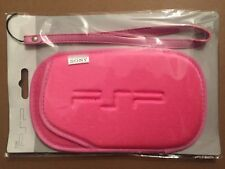 Housse PSP 1000 2000 & 3000 SoftBag Rose fluo en nylon protection neuve emballée