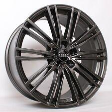 17 Zoll Alufelgen für Audi S3 A3 A4 B8 8K A5 A6 4G 4G1 4F Q5 Q3 WH18 Anthrazite