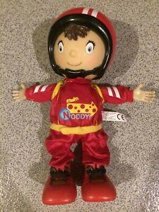 "Noddy My Friend Racer Soft Toy 11"" 29cm Racing Car Driver Doll  FREE P&P"