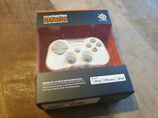Steelseries Stratus: Mini Wireless Gamepad for iOS (iPhone / iPad) - White