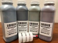 4 Color Developer Refill for Konica Minolta Bizhub C452, C552, C652 (Repair Fix)