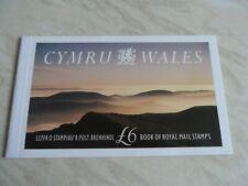Gb unused mint wales stamp booklet £6