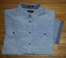 3635s NWOT $44 4X Marbled Gray EIGHTY EIGHT Platinum S/S Button Shirt!