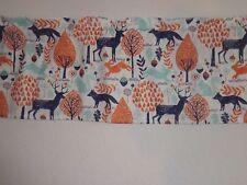 Woodland Animals Window Curtain Valance 56 x 16  Nursery