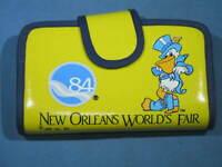 1984 New Orleans Worlds Fair Clutch Purse Wallet - NEW