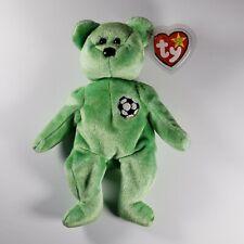 "RARE Ty Beanie Baby ""KICKS"" Original Bear Retired."