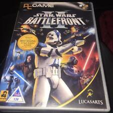 STAR Wars Battlefront II COMPLETO DI MANUALE 4 Disc PC CD ROM