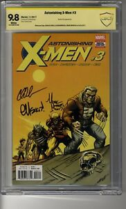 Astonishing X-Men (2017) # 3 Cover A -McGuinness - CBCS 9.8 WHITE SS3X
