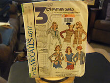 McCall's 4617 Misses Knit Top & Cardigan & Shirt Pattern - Size 14/16/18