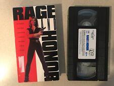 Rage and Honor (VHS, 1993) Cynthia Rothrock, Richard Norton