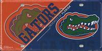 Florida Gators Metal Tag License Plate Gator Head Logo Automobile Car Tag NCAA
