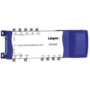 Labgear HDU641 Home 4 Way Distribution Unit with 2 Lnb Inputs